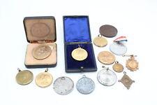 More details for 14 x antique / vintage royal medallions / medals inc victoria, edward vii etc