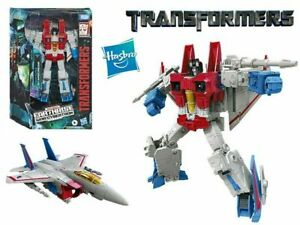 Transformers Earthrise War For Cybertron WFC-E9 Starscream Voyager Figure Action