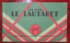 Carnet cartes postales Le Lautaret - 1934 Edition Hôtel restaurant des glaciers