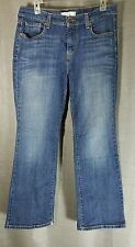 Levis Womens 12 Short Medium Wash 515 Bootcut Jeans