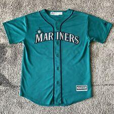 Majestic Mlb Seattle Mariners Nelson Cruz Baseball Jersey Youth Large