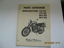 Bridgestone Motorcycle 175 Dual Twin Hurrucane Scrambler Parts Cataloge 53 pages