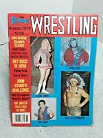 The Ring Wrestling Magazine August 1979 Studd Strongbow Curry Debbie Combs