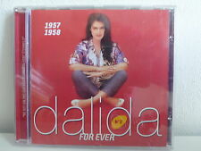CD ALBUM DALIDA For ever N°2 1957 1958 983957 1