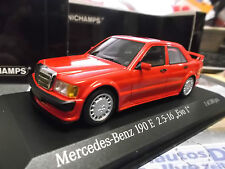 MERCEDES BENZ 190 E 2.5-16V Evo 1 1990 rot red 1/300 Minichamps 1:43