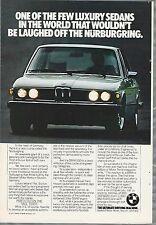 1977 BMW 530i advertisement, Nurburgring, Bavarian Motor Works 530i