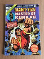 Giant-Size Master of Kung Fu #1 MARVEL-1974-1st DuCharme & Council of Seven