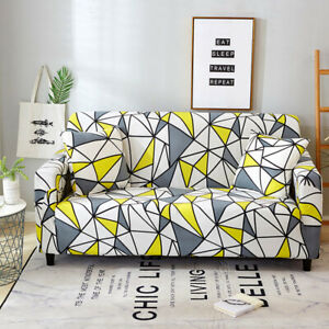 1/2/3/4 Seater Sofa Cover Stretch Fashion Couch Covers for Living Room