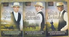 Lot of 3 - Men of Lancaster County Series Mindy Starns Clark/Meissner Amish Bl4