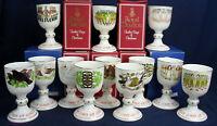 Royal Doulton ltd edt 12 days of CHRISTMAS goblets full set 1 - 12 some boxed