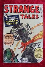 STRANGE TALES #101 HUMAN TORCH BEGINS! ORIGIN RETOLD! KIRBY ART!