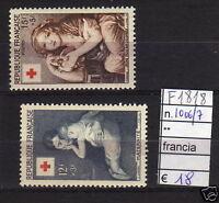 FRANCOBOLLI FRANCIA NUOVI** N°1006/07 (F1878)