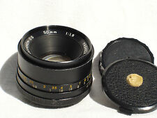YASHICA AUTO YASHINON - DS 50 mm F 1.9 lens for PENTAX M42 screw mount camera
