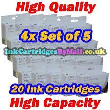 20 HQ Ink 520 521 For Canon PIXMA MP550 MP560 MP620 MP630 MP640 MP980 MP990 4Set