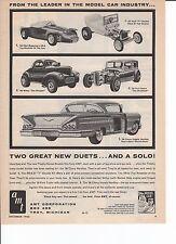 1963 AMT MODEL CAR / 1958 IMPALA ~ ORIGINAL PRINT AD
