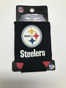 Pittsburgh Steelers NFL Kaddy Can Koozie Coozie Football Drink Holder
