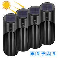 Outdoor LED Solar Power Light Motion Sensor Wall Lamp Waterproof For Garden Yard
