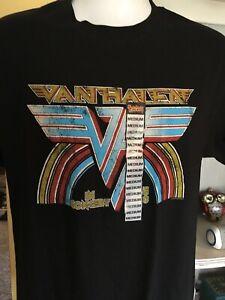 Van Halen Tour 1980 T-shirt new size adult M