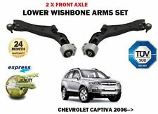 FOR CHEVROLET CAPTIVA 2006-> 2X FRONT LEFT + RIGHT LOWER WISHBONE SUSPENSION ARM