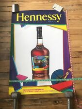 KAWS HENNESSY 2011 EVENT DISPLAY PROMO POSTER LARGE SIZE 24 x 36 VERY VERY RARE4