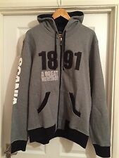 Official Scania 1891 Logo Hoodie Mens Men's Grey  45 46 CHEST  XXL New