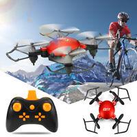 Q2 2.4G WIFI Foldable Mini Drone Headless Mode RC Quadcopter w/ 30W   #Oo y*
