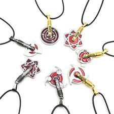 Naruto Shippuuden Kakashi Uchiha Sasuke Itachi Gaara Cosplay Sharingan Necklace