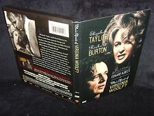 Who's Afraid Of Virginia Woolf? (DVD, 1997) Mint Disc•No Scratches•Real USA Made