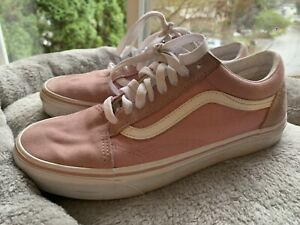 Vans Light Pink Old Skool Skate Shoes Size Women's 8.5