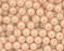 400 4 mm perla redonda con cuentas de vidrio ROSALINE