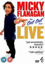 MICKY FLANAGAN LIVE - THE OUT OUT TOUR - DVD - REGION 2 UK