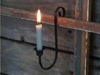 Chic Antique Altfranzösischer Kerzenhalter Leuchter  Shabby Vintage 14cm