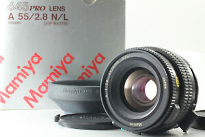 [Rare BRAND NEW] Mamiya A 55mm f2.8 N/L For 645 LS Lens with Lens Shutter Japan