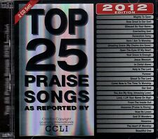 "TOP 25 PRAISE SONGS ""2012 Edition"" NEW Double CD set MARANATHA Praise & Worship"