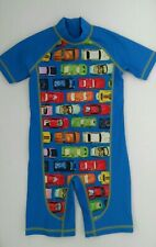 BNWOT Next Boys Cars All Over Print Sunsafe Suit Age 4-5 years