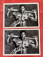 1990 Score #697 Bo Jackson Promo Cards LOT of 2 Auto Signed RC FB/BB Rookie MINT