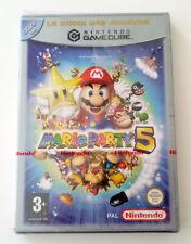 "Jeu Nintendo gamecube ""Mario party 5"" version FR PAL NEUF BLISTER"