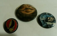 Jurassic Park Jabba Hutt Star Wars Grateful Dead enamel pin lot 3 vintage