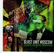 (EL824) Blast Unit Moscow, Roller Coaster Ride / Rain - DJ CD