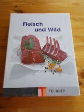 Teubner Fleisch und Wild Neu ungenutzt Schuber Lebensmittel Sachbuch Ausbildung