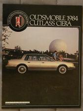 OLDSMOBILE CUTLASS CIERA 1984 dealer brochure - French - Canada - ST501001117