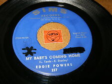 EDDIE POWERS - MY BABY'S COMING HOME - A MILLION   / LISTEN - RNB SOUL POPCORN
