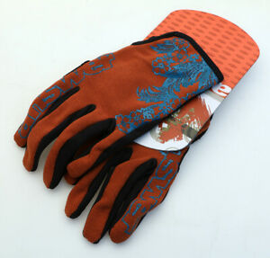 Answer Fall Line XC Pedal Women's Gloves Clay/Teal MTB NEW