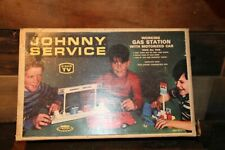 Johnny Service Gas Station Service Station 1968 Topper Toys