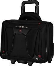 Wenger 600664 TRANSFER 16 Inch Expandable Wheeled Laptop Briefcase Black 20 L
