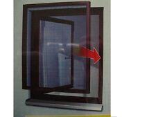 tesa Insektenschutzfenster Comfort 120x150cm Braun Fliegengitter ALU  55195 NEU