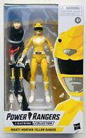 Power Rangers Lightning Collection Mighty Morphin Yellow Ranger 6-Inch PRE-ORDER