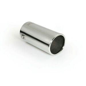 Stainless Steel Big Bore 154mm Car Exhaust Tail Pipe Trim Tip Polished 77mm