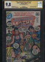 Justice League of America #161 CGC 9.8 SS Gerry Conway new costume ZATANNA 1978