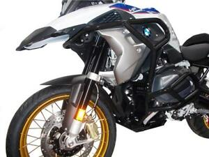 CrossPro BLACK (GLOSS) Engine Crash Bars Full Set BMW R 1250 GS 2020